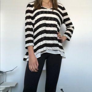 White House Black Market Layered V Neck Sweater